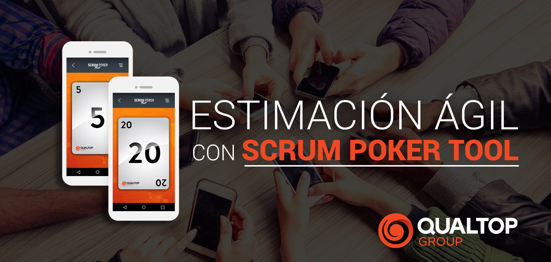Estimación ágil con Scrum Poker Tool