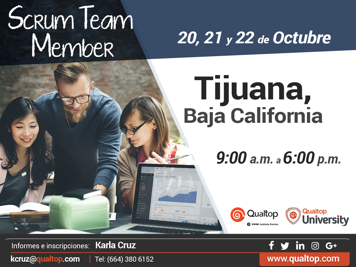 Curso Scrum Team Member